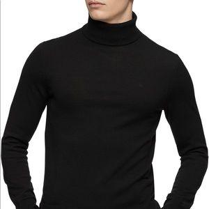 Men's Merino Wool Turtleneck Sweater
